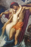 Painting Titled the Fisherman and the Syren  Bristol Museum and Art Gallery Bristol