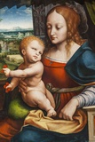 Painting Titled Madonna of the Cherries  Bristol Museum and Art Gallery Bristol