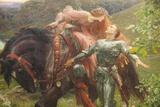 Painting Titled La Belle Dame sans Merci  Bristol Museum and Art Gallery Bristol