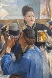 Painting Titled Corner of a Cafe-Concert  The National Gallery Trafalgar Square