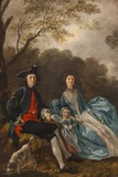 Portrait of Thomas Gainsborough with His Wife and Daughter The National Gallery Trafalgar Square