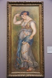 Painting Titled Dancing Girl with Castanets  The National Gallery Trafalgar Square