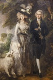 Painting of Mr and Mrs William Hallett The National Gallery Trafalgar Square