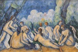 Painting Titled Bathers (Les Grandes Baigneuses)  The National Gallery Trafalgar Square