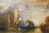 Painting of Ulysses Deriding Polyphemus The National Gallery Trafalgar Square