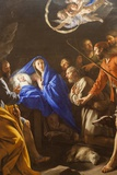 Painting Titled the Adoration of the Shepherds  The Wallace Collection Museum