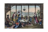 Banqueting Scene in Greece in 19Th Century