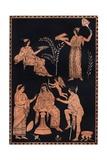 Scene of Initiation into the Eleusinian Mysteries