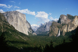 Bridalveil Falls in Yosemite Valley