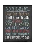 Faith Family Rules