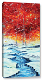 First Snow  Gallery-Wrapped Canvas