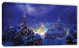 Christmas Town  Gallery-Wrapped Canvas