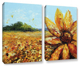 Seeing The Sun  2 Piece Gallery-Wrapped Canvas Set
