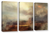 Before The Rain  3 Piece Gallery-Wrapped Canvas Set