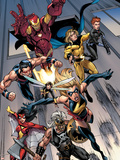 The Mighty Avengers No7 Group: Ms Marvel
