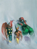 Secret War V1 No1 Group: Wolverine  Thor  Hulk and Spider-man