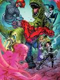Avengers Academy No11: Mettle  Veil  Hazmat  Reptil  Striker  and Finesse
