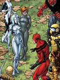 Avengers Academy No25: Veil Jocasta  Finesse  Mettle  Giant Man  Tigra  and Hazmat