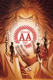 Avengers Arena 7 Cover: Acarde  Sister Grimm  Hazmat  Reptil  Kid Briton  X-23  Nara  Apex