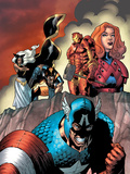 Marvel Two-In-One No14 Cover: Captain America