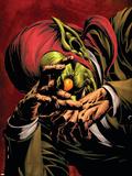Dark Avengers No5 Cover: Green Goblin