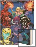 Avengers Academy No12: Striker  Veil  Hazmat  Finesse  Mettle  and Reptil