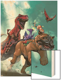 Lockjaw and the Pet Avengers No2 Cover: Lockjaw  Lockheed and Devil Dinosaur