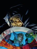 Avengers: The Initiative No9 Cover: Task Master Fighting