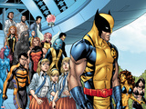 Avengers Academy No29: Wolverine  Stepford Cuckoos  Velocidad  Primal  Pixie  and Dust