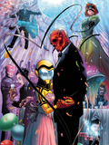 Avengers Academy No13 Cover: Mettle and Hazmat