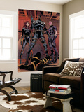 Secret Avengers 14 Group: Black Window  Nick Fury  Hawkeye