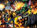 Avengers vs Pet Avengers No3: Spider-Man  Wolverine  Ms Marvel  Fin Fang Foom  and Lockheed