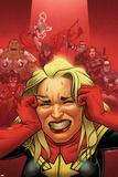 Avengers Assemble 16 Cover: Captain Marvel  Captain America  Black Widow  Hawkeye  Thor  Hulk
