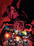 Dark Avengers No7 Cover: Emma Frost  Osborn and Norman