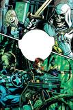 Secret Avengers 6 Cover: Mockingbird  Taskmaster  Nick Fury  Black Widow  Hawkeye