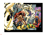 Avengers Thunderbolts No5 Group: Atlas  Moonstone  Hawkeye  Songbird  Thunderbolts and Avengers