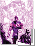 New Avengers Annual No1 Cover: Wonder Man Walking with Energy