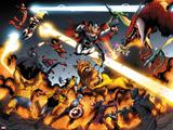 Avengers vs Pet Avengers No3: Ms Marvel  Luke Cage  Spider Woman  Steve Rogers  and Mockingbird