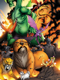 Avengers vs Pet Avengers No3: Lockjaw  Lockheed  and Fin Fang Foom Standing