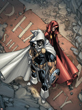 Avengers: The Initiative No25 Cover: Task Master and The Hood