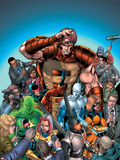 New Thunderbolts No7 Cover: MACH-IV
