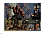New Avengers No23: Panels with Luke Cage