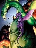 Avengers vs Pet Avengers No2: Fin Fang Foom and Lockheed Flying