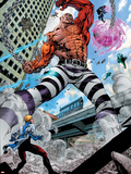 Avengers Academy No7: Absorbing Man Fighting