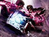 Avengers Annual No1: Wonder Man and Iron Man Fighting