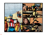 Pulse No12 Group: Captain America  Spider Woman  Spider-Man  Iron Man  Wolverine and New Avengers