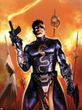 Secret Avengers No5 Cover: Nick Fury Standing