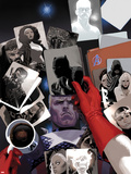 Avengers No18 Cover: Photographs of Steve Rogers  Black Panther  Ghost Rider  Storm  and Blade