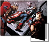 Avengers Finale No1 Group: Captain America  Giant Man  Iron Man  Thor and Wasp