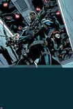 Secret Avengers 12 Cover: Nick Fury  Black Widow  Hawkeye